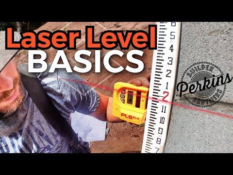 Laser Level Basics | How To use a laser level