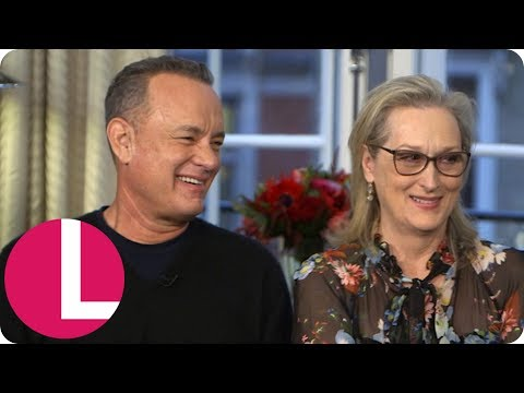 Tom Hanks and Meryl Streep Are Happy to See the Landscape of Hollywood Changing | Lorraine