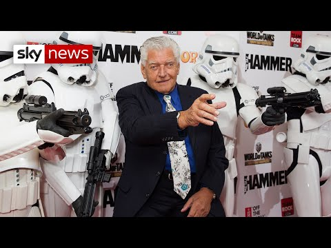 David Prowse: Darth Vader actor and Green Cross Man dies aged 85