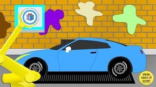 Мультфильм про машинки, автовоз, изучение цвета для малышей! Развивающий мультик про машинки