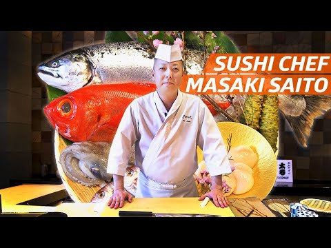 Chef Masaki Saito's Fish Aging Techniques Earned Him Two Michelin Stars — Omakase Sushi