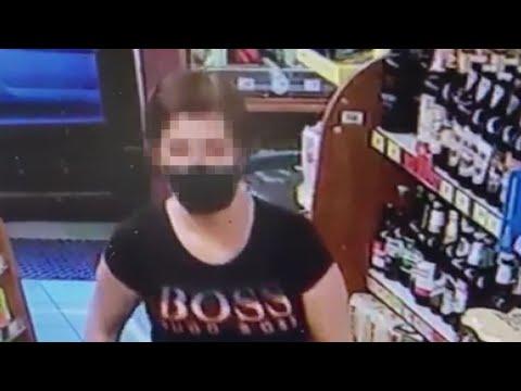 Wideo1: Monitoring sklepowy pomógł policji w ustaleniu sprawczyni rozboju w Wolsztynie