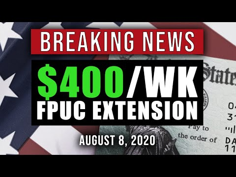 TRUMP EXECUTIVE ORDER – EXTENDS FPUC UNEMPLOYMENT & MORE (4 ORDERS NOW)