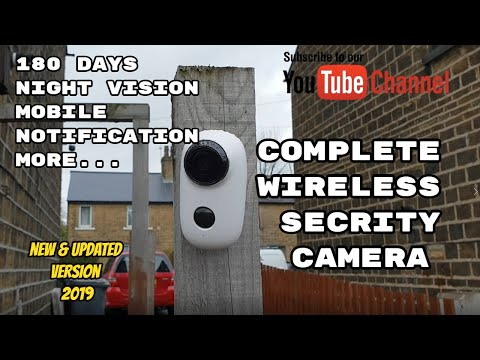 ᐅᐅ】Battery powered wireless outdoor security camera