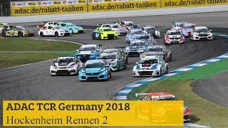 Hightlights ADAC TCR Germany Rennen 2 Hockenheim 2018 | Kholo.pk