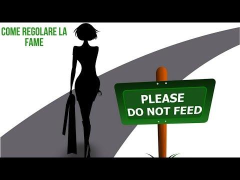Il video una lezione come perdere il peso