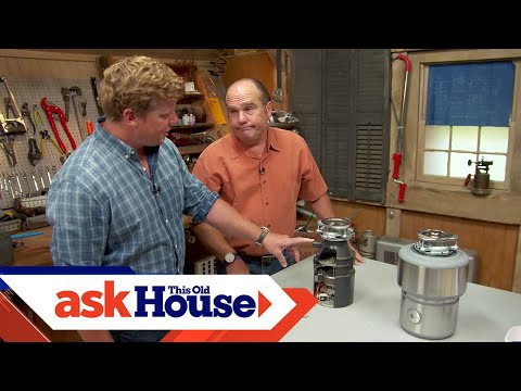 What Can and Can't Go Down a Garbage Disposer