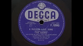 The Goons 'A Russian Love Song' 1957 78 rpm