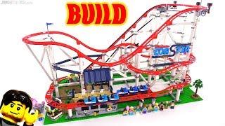 Time-Lapse BUILD: LEGO Creator Expert Roller Coaster 10261