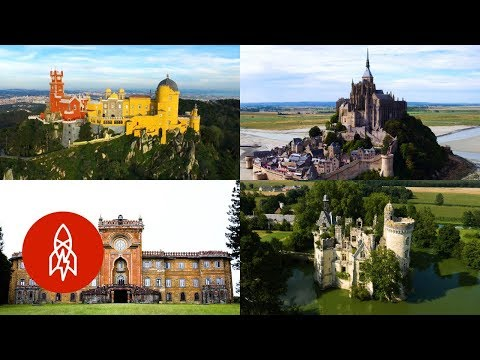 8 Fairytale-Like Castles That You've Probably Never Seen