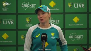 A real challenge but one that I look forward to: Healy | Australia v India 2021