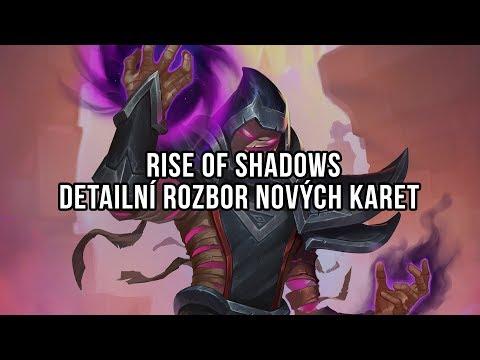 Rise of Shadows - Detailní rozbor nových karet