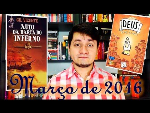 Leituras de Março 2016 | Auto da Barca do Inferno - Gil Vicente