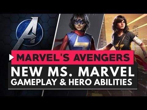 MARVEL'S AVENGERS   New Ms. Marvel Gameplay & Abilities