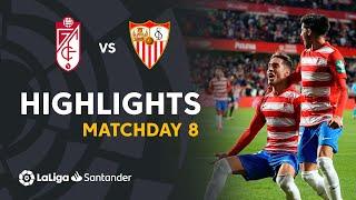 Resumen de Granada CF vs Sevilla FC (1-0)