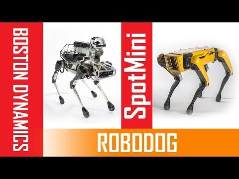Pet dog is a robot !! The NEW SpotMini from OLD SpotMini Introducing Boston Dynamics | future tech