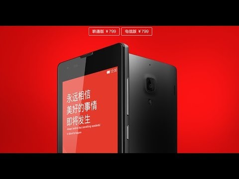 Xiaomi Hongmi 1S Redmi 1S First Look!Snapdragon msm8228 1.6Ghz 1GB/8GB