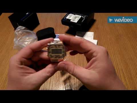 Casio Retro Gold Camouflage A168 Unboxing