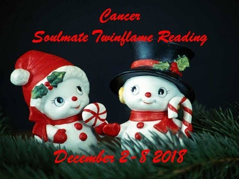 Cancer December 2-8 Soulmate/Twinflame Reading 2018 - THE DIVINE IS WITH YOU! ON YOUR SIDE!