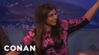 Mindy Kaling Got Wasted At Conan's House  - CONAN on TBS