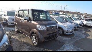 Какие Японские авто скупает запад, на Дальнем востоке, Honda n-Box