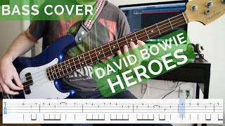 David Bowie   Heroes Bass Cover