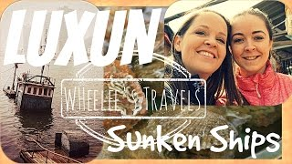 preview picture of video 'Luxun's Sunken Ships | Dalian, China | Wheelee's Travels'