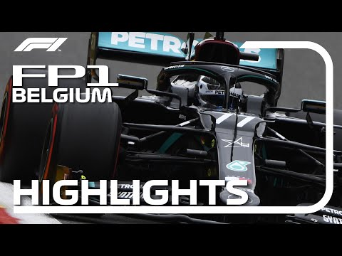 2020 Belgian Grand Prix: FP1 Highlights