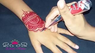 Henna Dan Anak Anak L Cara Mudah Melukis Dengan Henna Samye Luchshie