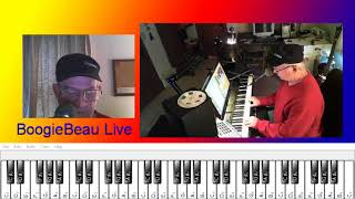 How to play You Got Lucky on the electronic keyboard.