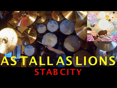 As Tall As Lions - Stab City (DRUM COVER)