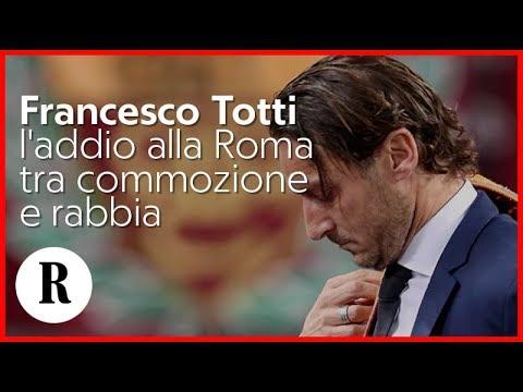 Francesco Totti, addio alla Roma: in diretta la conferenza stampa  - fonte: R   La Repubblica