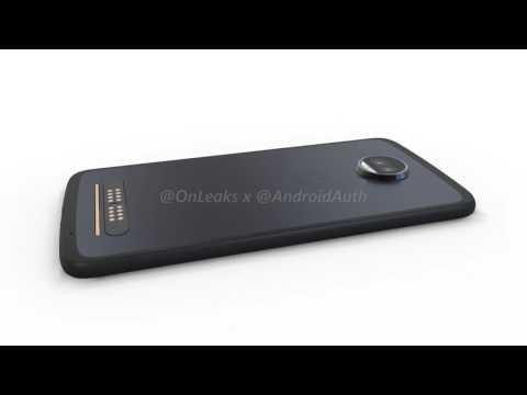 Motorola Moto Z2 Force in nuovi render con Jack per le cuffie, USB Type-C e doppia fotocamera