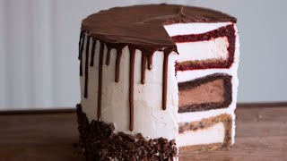 Triple Decker Cheesecake Tower - Video Youtube