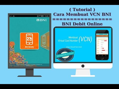 Tutorial | Cara Membuat VCN BNI ( Virtual Card Number ) | BNI Debit Online