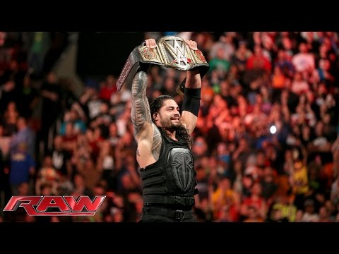 Download Roman Reigns vs. Sheamus - WWE World Heavyweight Championship Match: Raw, December 14, 2015 HD Mp4 3GP Video and MP3