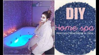 💙LA SPA IN CASA🛀! Percorso Benessere, Sali, Scrub, Cromoterapia, NATURALE E Fai Da Te DIY Home Spa