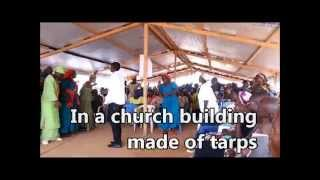 preview picture of video 'Bangui Airport Chapel May 2014'