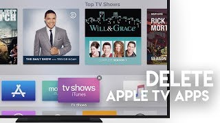 How to Delete Apps on Apple TV -