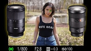 Sony 24-70 GM Vs Tamron 28-75 Lens Comparison| I'm SWITCHING!