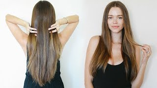 How To Grow Long Healthy Hair Naturally | Model Tips