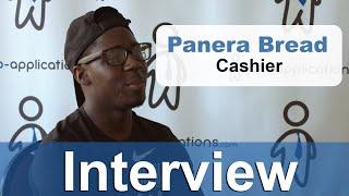 Panera Bread Interview - Cashier