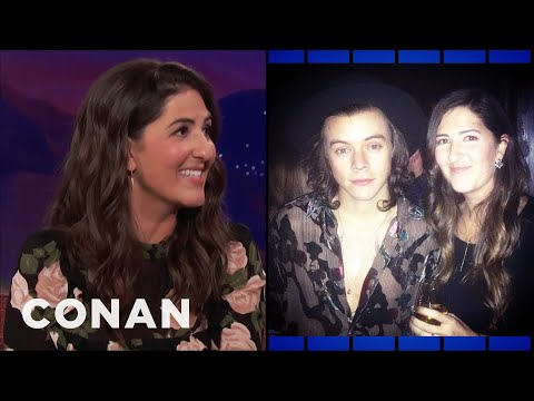 D'Arcy Carden's Very Confusing Harry Styles Encounter  - CONAN on TBS