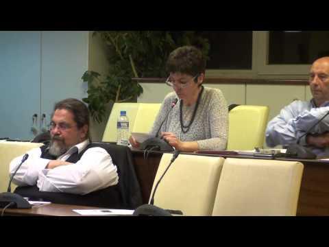 Δημ. Συμβούλιο 2-3-15 Ανακοίνωση Αντιδημάρχου κ. Βασιλοπούλου