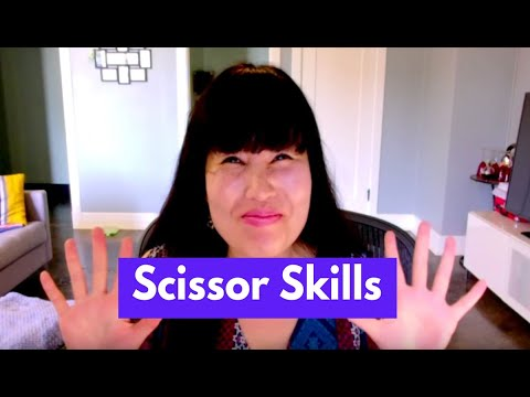 Scissor Skills Development