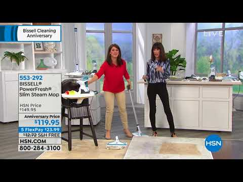 HSN | Bissell Cleaning Anniversary 09.07.2018 - 01 AM