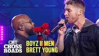 'I'll Make Love To You' by Boyz II Men & Brett Young | CMT Crossroads