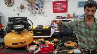 How to Use the Air Tools