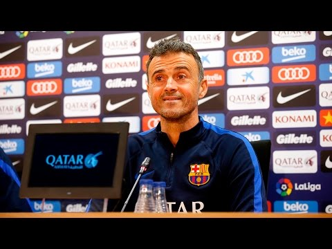 Luis Enrique's press conference ahead of Barça-Real Sociedad (Spanish Cup)