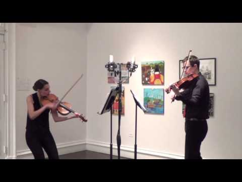 """En Pointe: A Ballet for Two Violas"" (Live Performance) - Concert Music by Kit G."